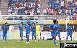 オリンピック・サッカー アメリカ戦