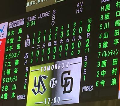 16,07,09の試合結果
