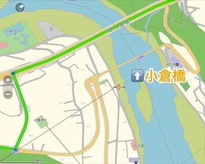 小倉橋地図